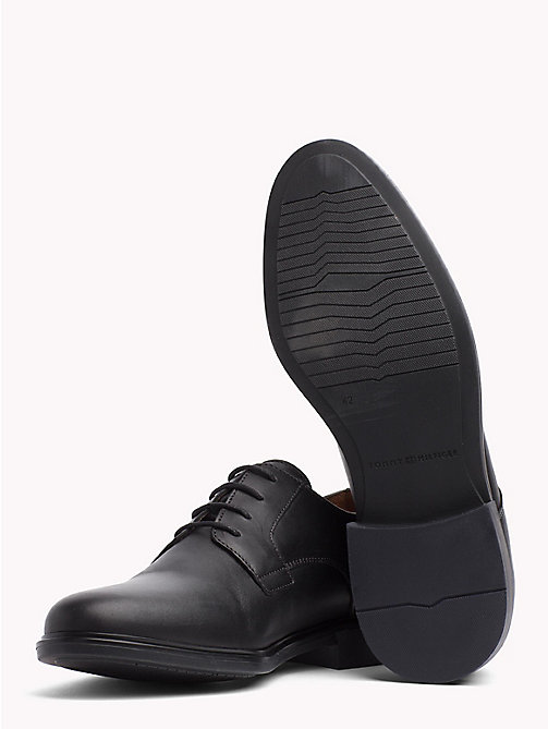 TOMMY HILFIGER Classic Leather Shoes - BLACK - TOMMY HILFIGER Lace-up Shoes - detail image 1