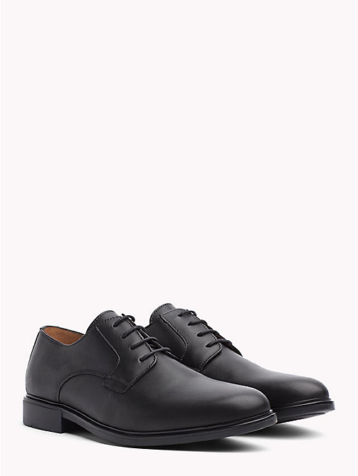TOMMY HILFIGER Classic Leather Shoes - BLACK - TOMMY HILFIGER Lace-up Shoes - main image