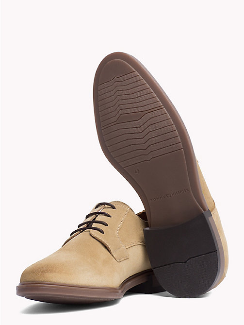 TOMMY HILFIGER Classic Suede Shoes - CASHMERE - TOMMY HILFIGER Lace-up Shoes - detail image 1