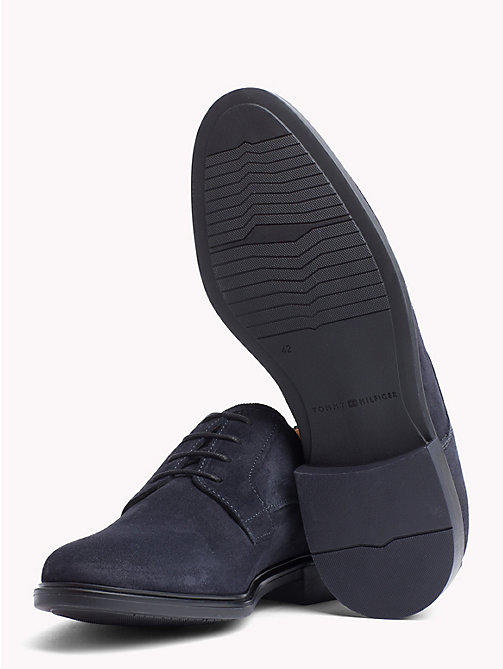 TOMMY HILFIGER Classic Suede Shoes - MIDNIGHT - TOMMY HILFIGER Lace-up Shoes - detail image 1