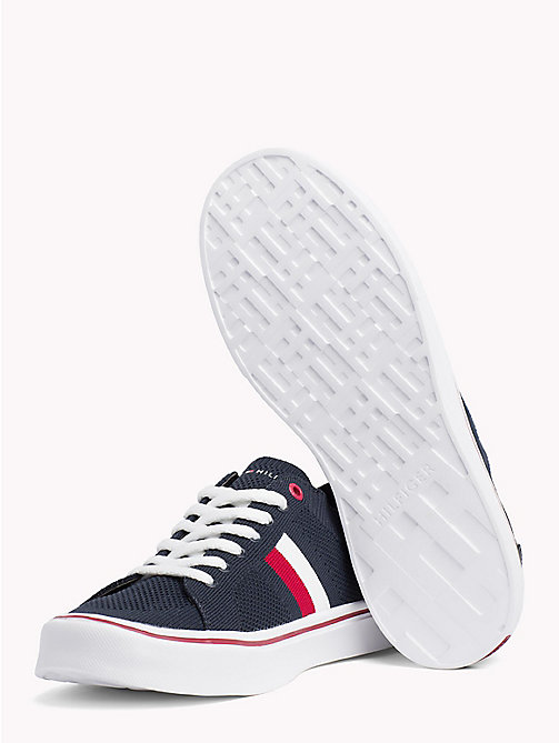 TOMMY HILFIGER Lightweight Lace-Up Trainers - MIDNIGHT - TOMMY HILFIGER Summer shoes - detail image 1