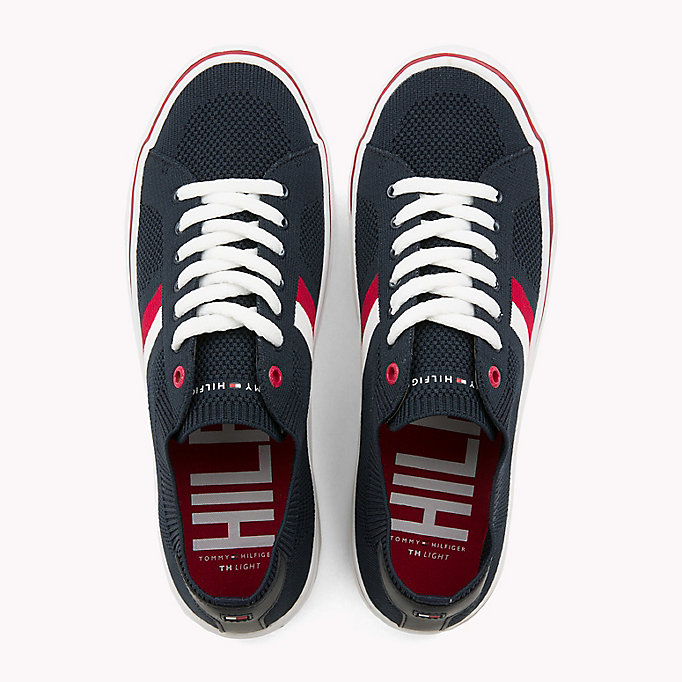 TOMMY HILFIGER Lightweight Lace-Up Trainers - TANGO RED - TOMMY HILFIGER Men - detail image 3