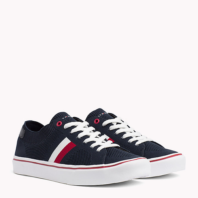 TOMMY HILFIGER Lightweight Lace-Up Trainers - TANGO RED - TOMMY HILFIGER Men - main image