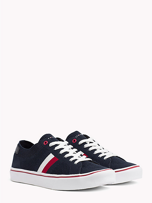 TOMMY HILFIGER Lightweight Lace-Up Trainers - MIDNIGHT - TOMMY HILFIGER Summer shoes - main image
