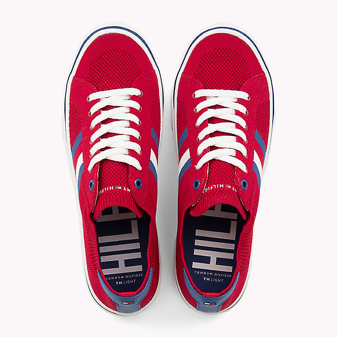 TOMMY HILFIGER Lightweight Lace-Up Trainers - WHITE - TOMMY HILFIGER Men - detail image 3
