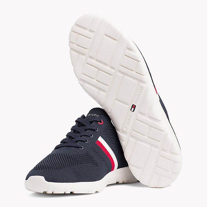 TOMMY HILFIGER Lightweight Knitted Runners - TANGO RED - TOMMY HILFIGER Men - detail image 1
