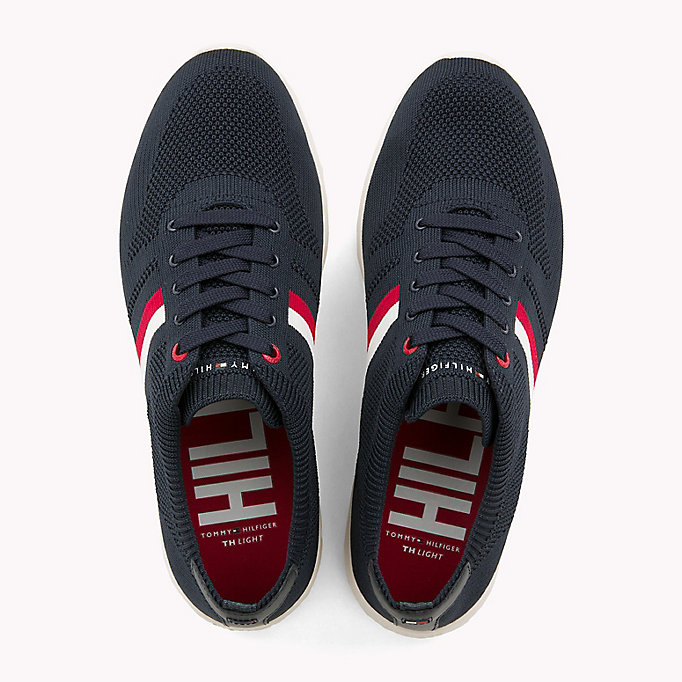 TOMMY HILFIGER Lightweight Knitted Runners - TANGO RED - TOMMY HILFIGER Men - detail image 3
