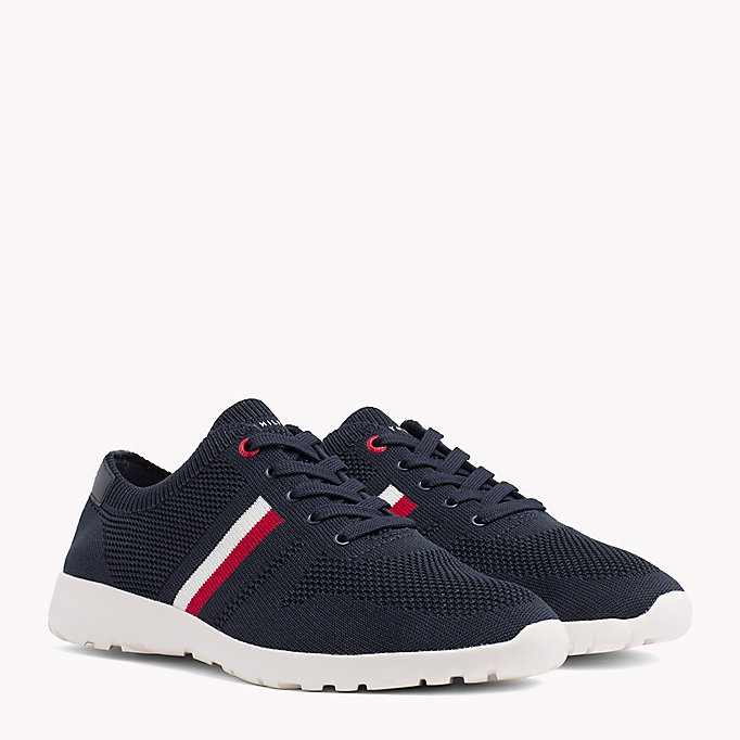 TOMMY HILFIGER Lightweight Knitted Runners - TANGO RED - TOMMY HILFIGER Men - main image