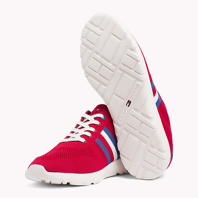 TOMMY HILFIGER Lightweight Knitted Runners - WHITE - TOMMY HILFIGER Men - detail image 1