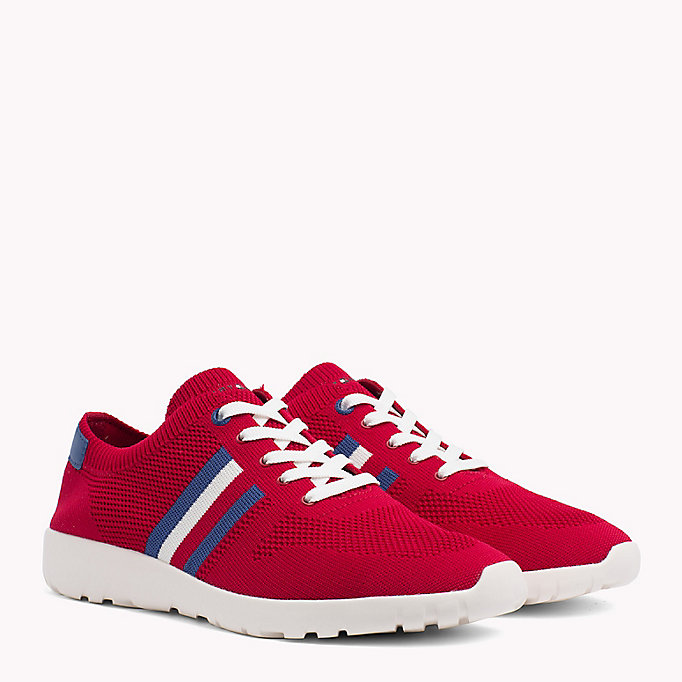 TOMMY HILFIGER Lightweight Knitted Runners - WHITE - TOMMY HILFIGER Men - main image