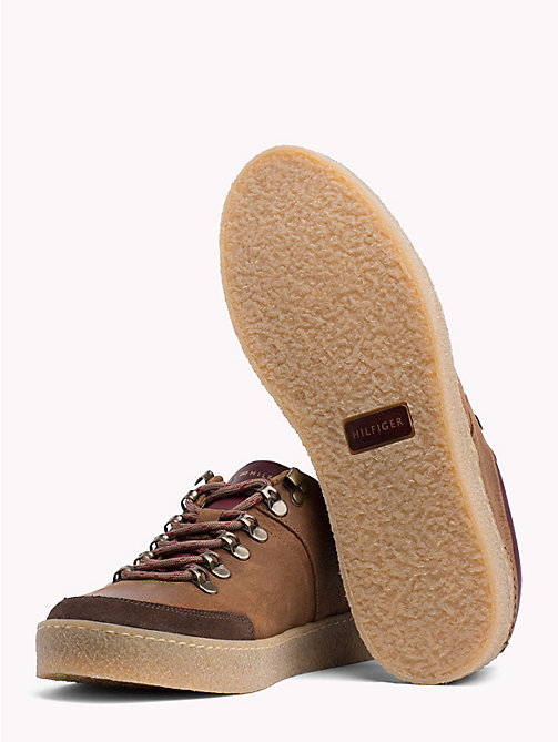 TOMMY HILFIGER Hiking-Sneaker mit Farbblockdesign - COFFEE - TOMMY HILFIGER NEW IN - main image 1