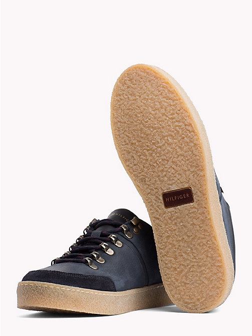 TOMMY HILFIGER Hiking-Sneaker mit Farbblockdesign - MIDNIGHT - TOMMY HILFIGER NEW IN - main image 1