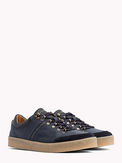 TOMMY HILFIGER Hiking-Sneaker mit Farbblockdesign - MIDNIGHT - TOMMY HILFIGER NEW IN - main image