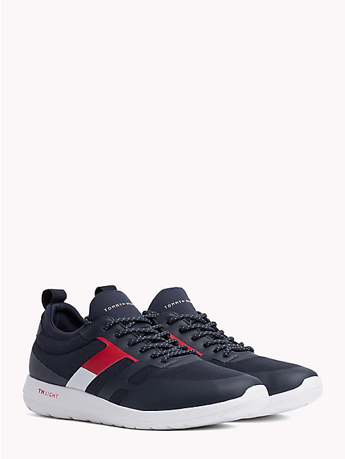 TOMMY HILFIGER Technical Material Trainers - MIDNIGHT - TOMMY HILFIGER Shoes - main image