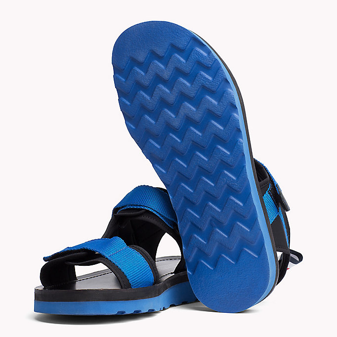 TOMMY HILFIGER ASYMMETRIC STRAP RAFTING SANDAL - MIDNIGHT - TOMMY HILFIGER Men - detail image 1
