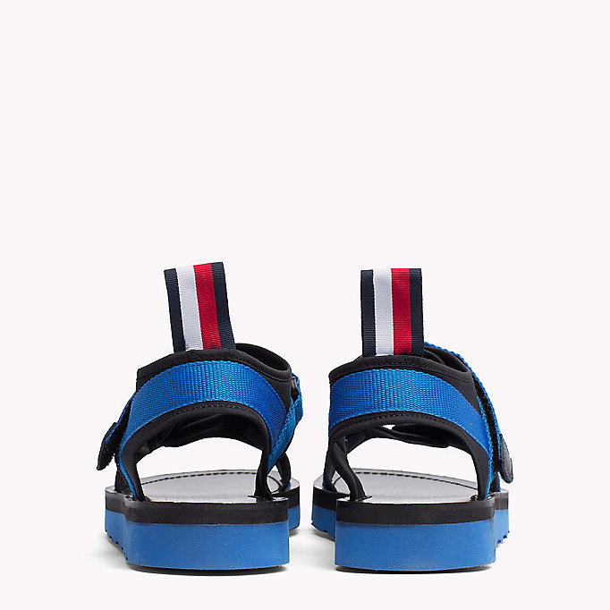 TOMMY HILFIGER ASYMMETRIC STRAP RAFTING SANDAL - MIDNIGHT - TOMMY HILFIGER Men - detail image 2