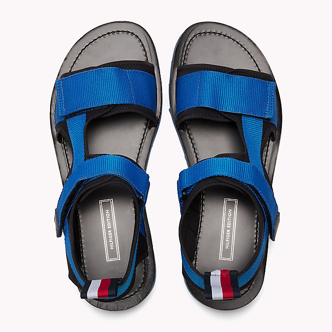 TOMMY HILFIGER ASYMMETRIC STRAP RAFTING SANDAL - MIDNIGHT - TOMMY HILFIGER Men - detail image 3