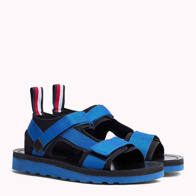 TOMMY HILFIGER ASYMMETRIC STRAP RAFTING SANDAL - MIDNIGHT - TOMMY HILFIGER Men - main image