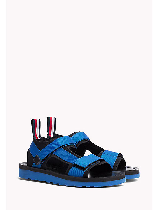 TOMMY HILFIGER ASYMMETRIC STRAP RAFTING SANDAL - SURF THE WEB - TOMMY HILFIGER Hilfiger Collection - main image