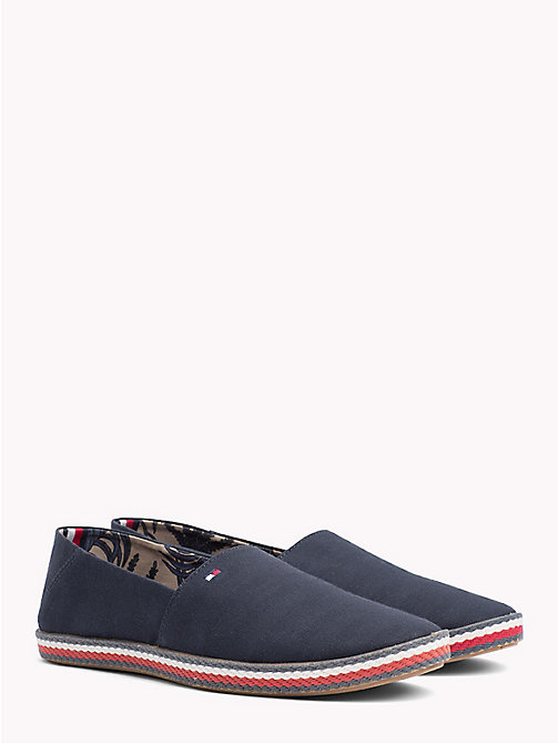TOMMY HILFIGER Slip On Summer Espadrilles - MIDNIGHT - TOMMY HILFIGER Summer shoes - main image