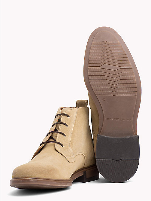 TOMMY HILFIGER Classic Suede Boots - CASHMERE - TOMMY HILFIGER NEW IN - detail image 1