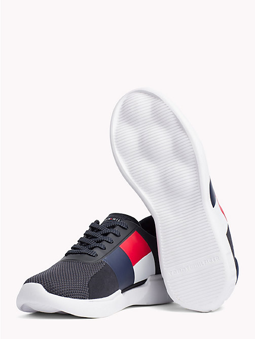 TOMMY HILFIGER Lichtgewicht colour-blocked sneaker - MIDNIGHT - TOMMY HILFIGER NIEUW - detail image 1