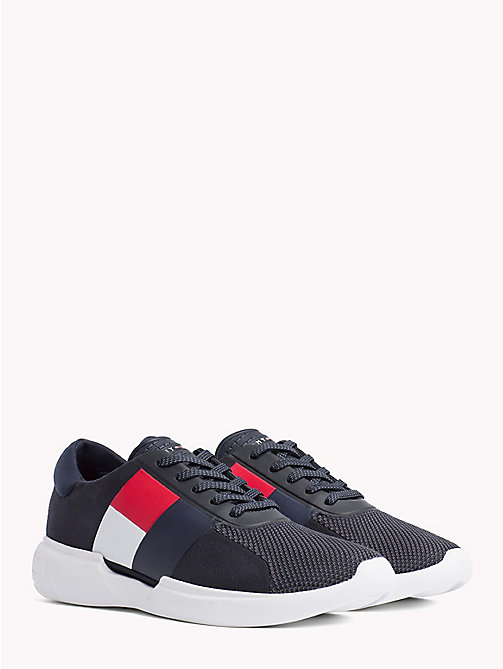 TOMMY HILFIGER Lichtgewicht colour-blocked sneaker - MIDNIGHT - TOMMY HILFIGER NIEUW - main image