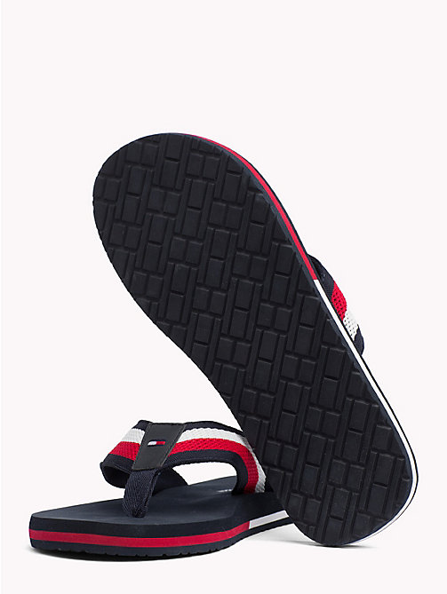 TOMMY HILFIGER Colour-Blocked Mesh Sandals - MIDNIGHT - TOMMY HILFIGER Sandals & Flip Flops - detail image 1