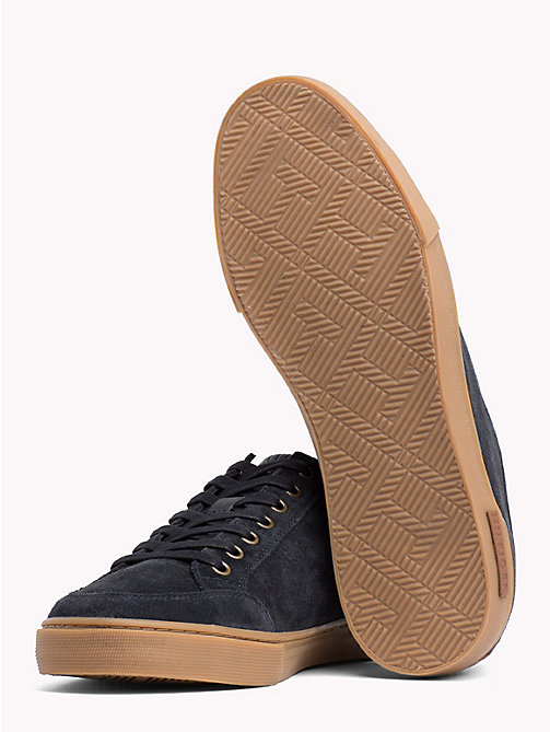 TOMMY HILFIGER Core Suede Trainers - MIDNIGHT - TOMMY HILFIGER Shoes - detail image 1