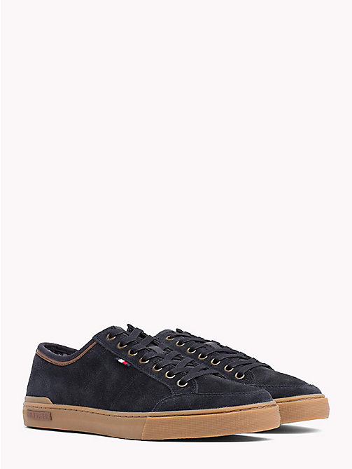 TOMMY HILFIGER Core Suede Trainers - MIDNIGHT - TOMMY HILFIGER Shoes - main image