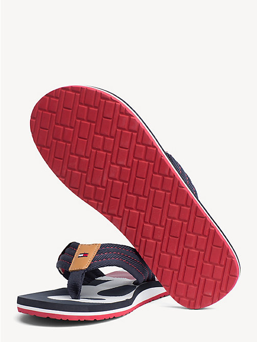 TOMMY HILFIGER Colour-Blocked Flip Flops - MIDNIGHT - TOMMY HILFIGER NEW IN - detail image 1