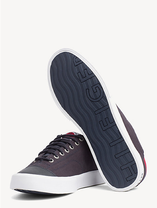 TOMMY HILFIGER Signature Tape Trainers - MIDNIGHT - TOMMY HILFIGER NEW IN - detail image 1