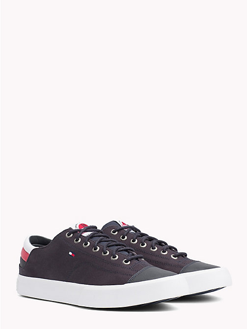 TOMMY HILFIGER Signature Tape Trainers - MIDNIGHT - TOMMY HILFIGER NEW IN - main image