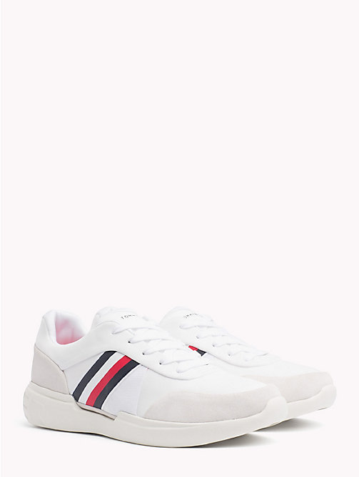 TOMMY HILFIGER Lightweight Signature Trainers - WHITE - TOMMY HILFIGER NEW IN - main image