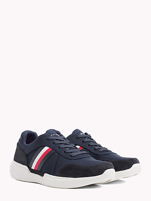 TOMMY HILFIGER Lightweight Signature Trainers - MIDNIGHT - TOMMY HILFIGER NEW IN - main image