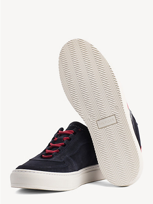 TOMMY HILFIGER Colour-blocked signature-sneaker - MIDNIGHT - TOMMY HILFIGER NIEUW - detail image 1