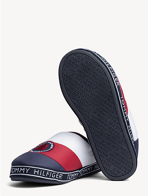 TOMMY HILFIGER Mountain Patch Flag Slippers - RWB - TOMMY HILFIGER Slippers - detail image 1