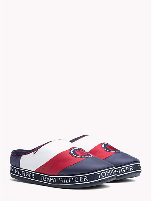 TOMMY HILFIGER Mountain Patch Flag Slippers - RWB - TOMMY HILFIGER Slippers - main image