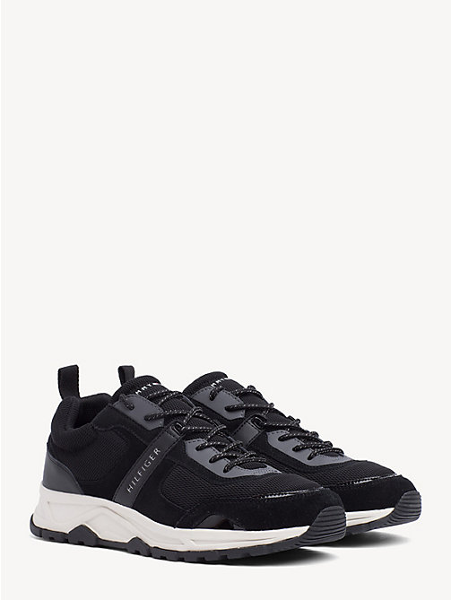 5a04f2923 TOMMY HILFIGERContrast Texture Low-Top Trainers. £100.00