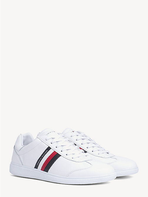 TOMMY HILFIGER Essential Signature Cupsole Trainers - WHITE - TOMMY HILFIGER Trainers - main image