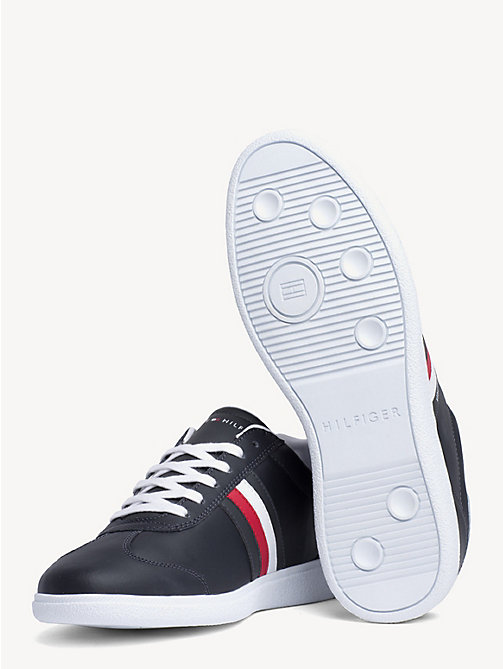 TOMMY HILFIGER Essential Signature Cupsole Trainers - MIDNIGHT - TOMMY HILFIGER Trainers - detail image 1
