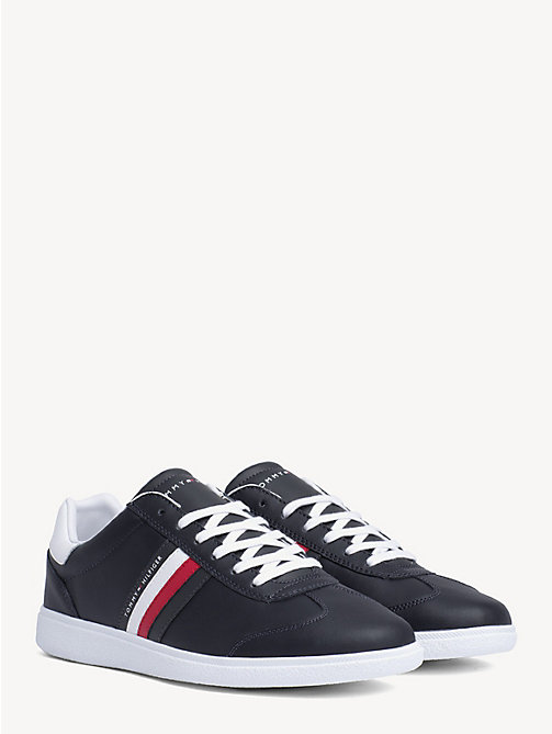 TOMMY HILFIGER Essential Signature Cupsole Trainers - MIDNIGHT - TOMMY HILFIGER Trainers - main image