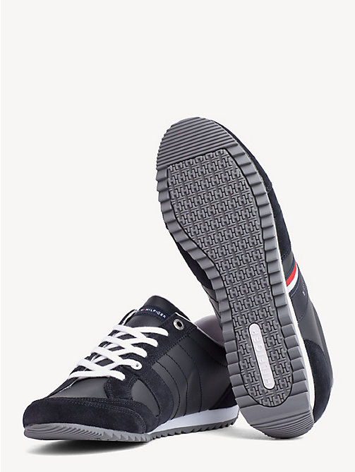 TOMMY HILFIGER Essential Signature Tape Trainers - MIDNIGHT - TOMMY HILFIGER Trainers - detail image 1