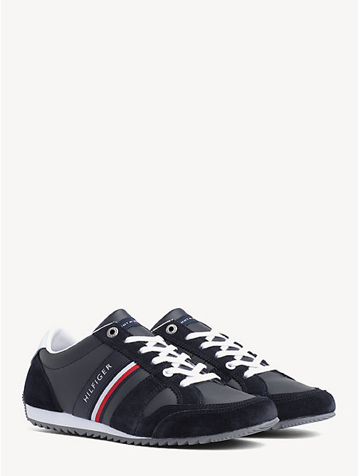 TOMMY HILFIGER Essential Signature Tape Trainers - MIDNIGHT - TOMMY HILFIGER Trainers - main image