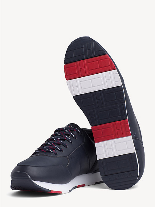 TOMMY HILFIGER Logo Trainers - MIDNIGHT - TOMMY HILFIGER Trainers - detail image 1