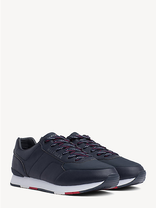 TOMMY HILFIGER Logo Trainers - MIDNIGHT - TOMMY HILFIGER Trainers - main image