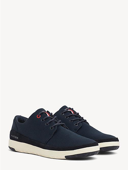 fd7ac31bd52364 sneakers stringate essential blue da uomo tommy hilfiger