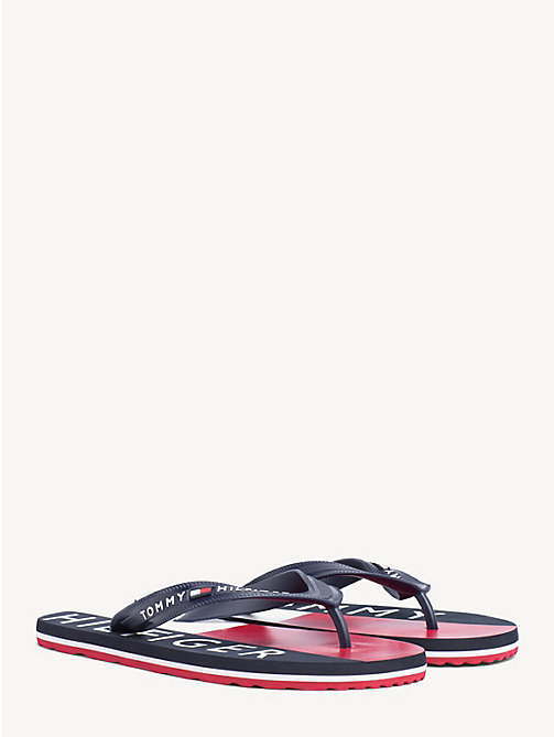 998134d8a54139 TOMMY HILFIGERColour-Blocked Flip-Flops. €29.90. NEW