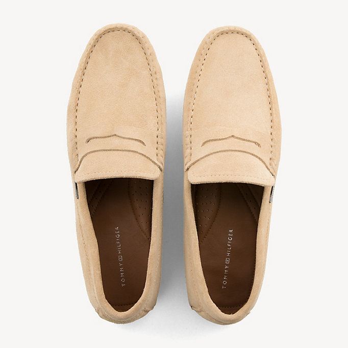 Penny Tommy Classic Loafer Hilfiger Suede 7yYf6bg