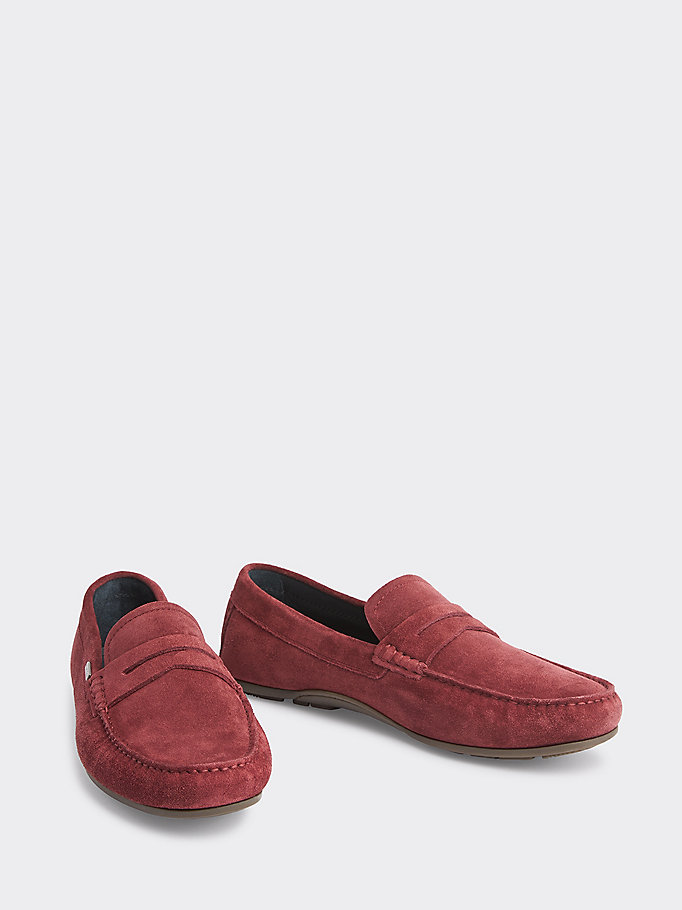 684893d54f Classic Suede Penny Loafers   CHOCOLATE TRUFFLE   Tommy Hilfiger